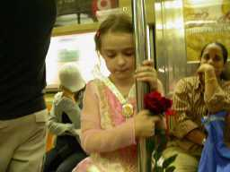 Belle on the Subway