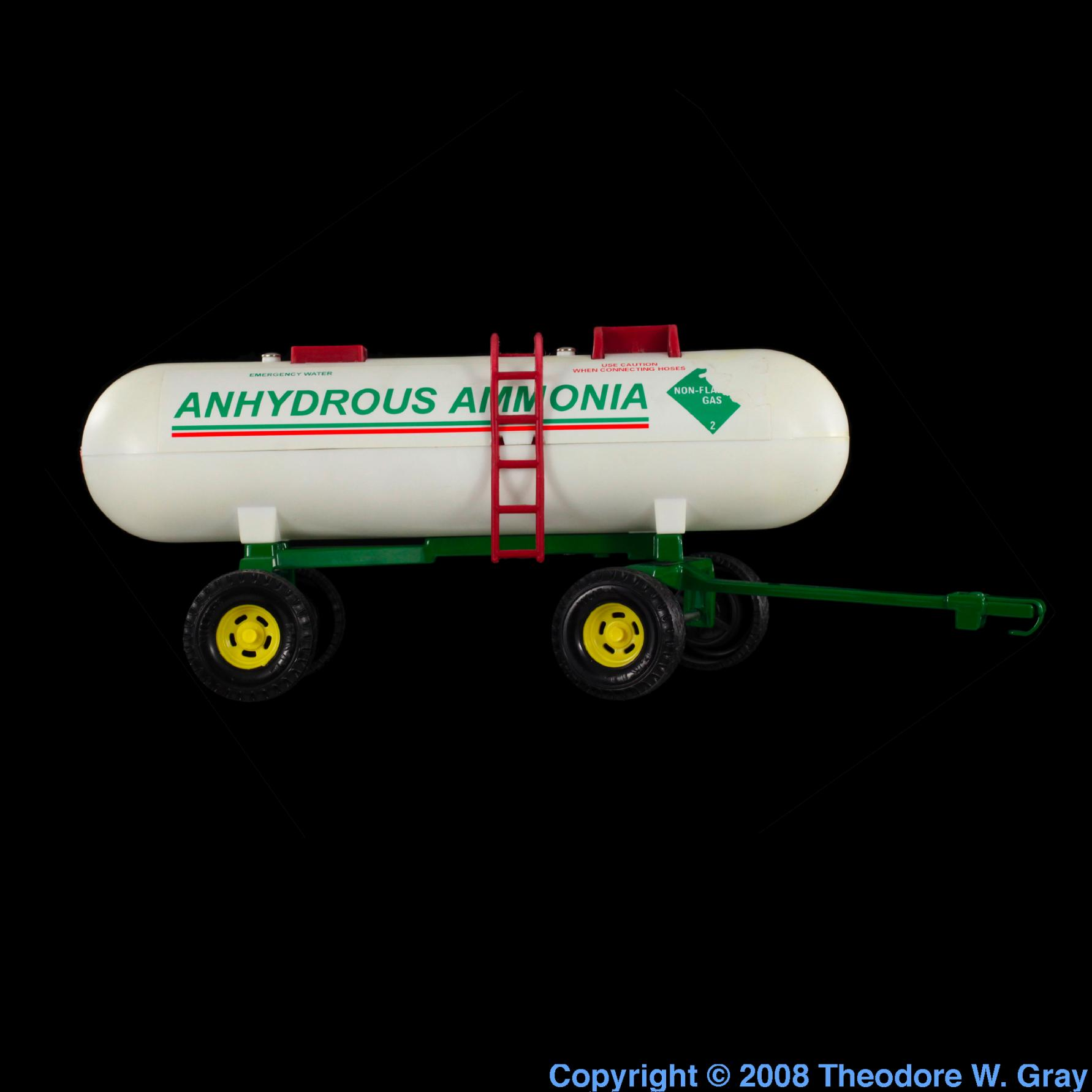 How does anhydrous ammonia create more available nitrogen for plants?