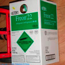 freon 134a du pont from sales