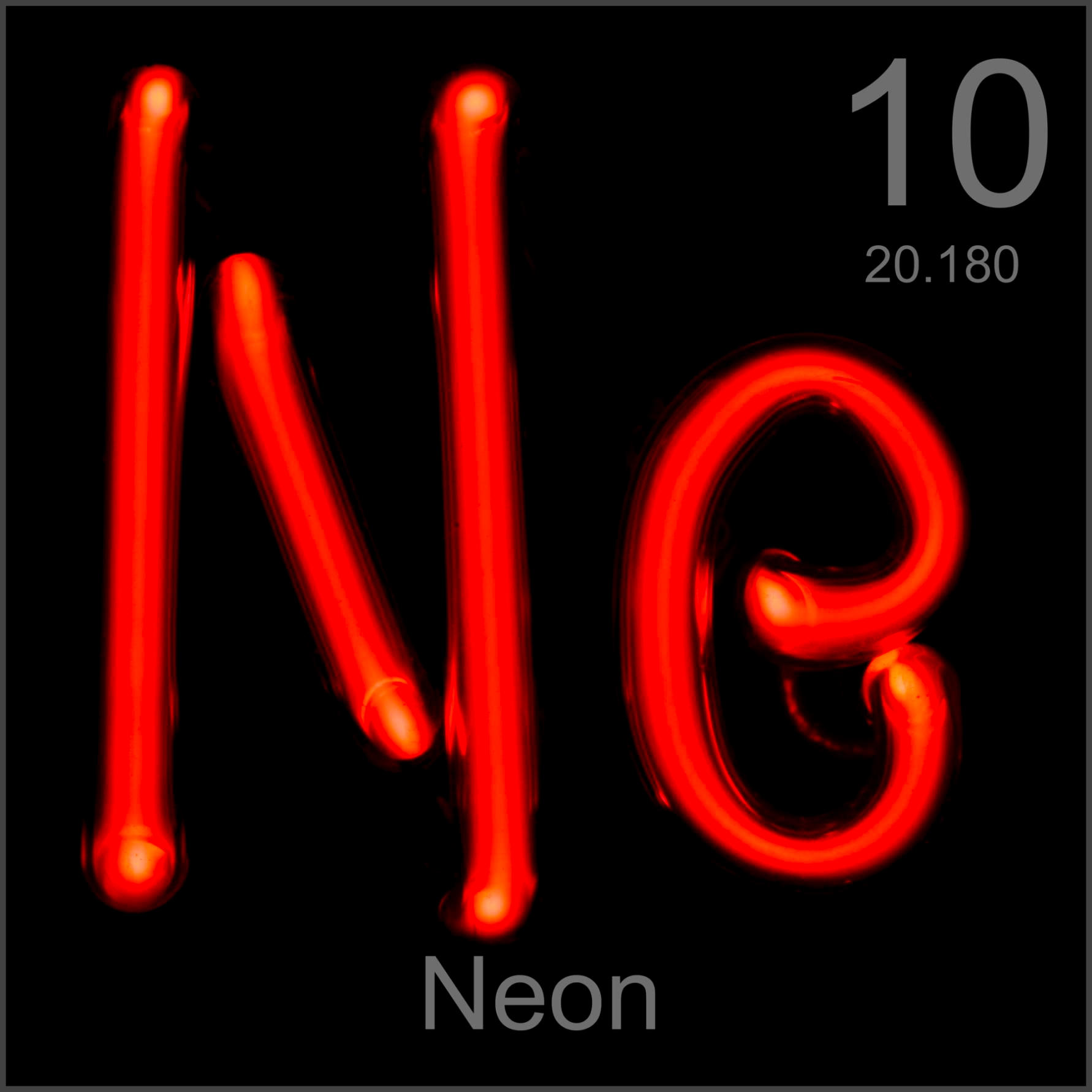 Facts pictures stories about the element neon in the periodic table neon museum grade sample buycottarizona Images