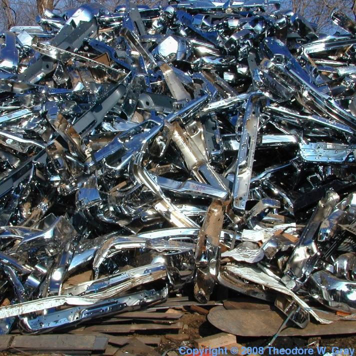 Samples from Marco\'s Scrap Metal (8) in the Periodic Table