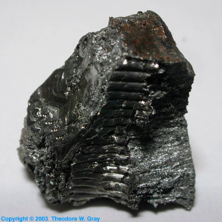 Sample Of The Element Yttrium In The Periodic Table
