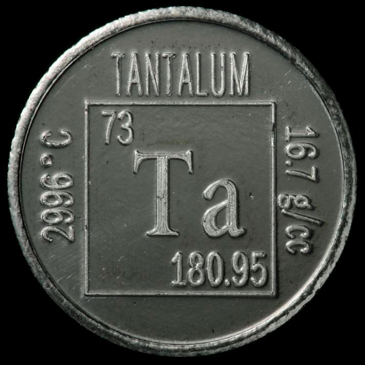 facts  pictures  stories about the element tantalum in the