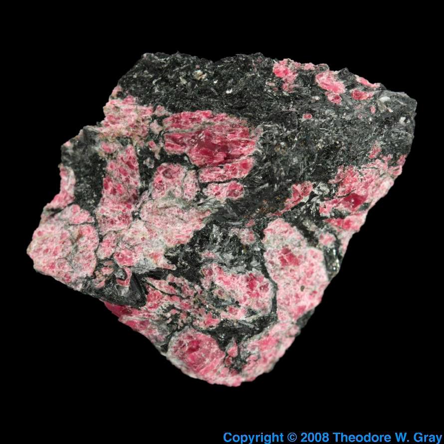 Pure cobalt element