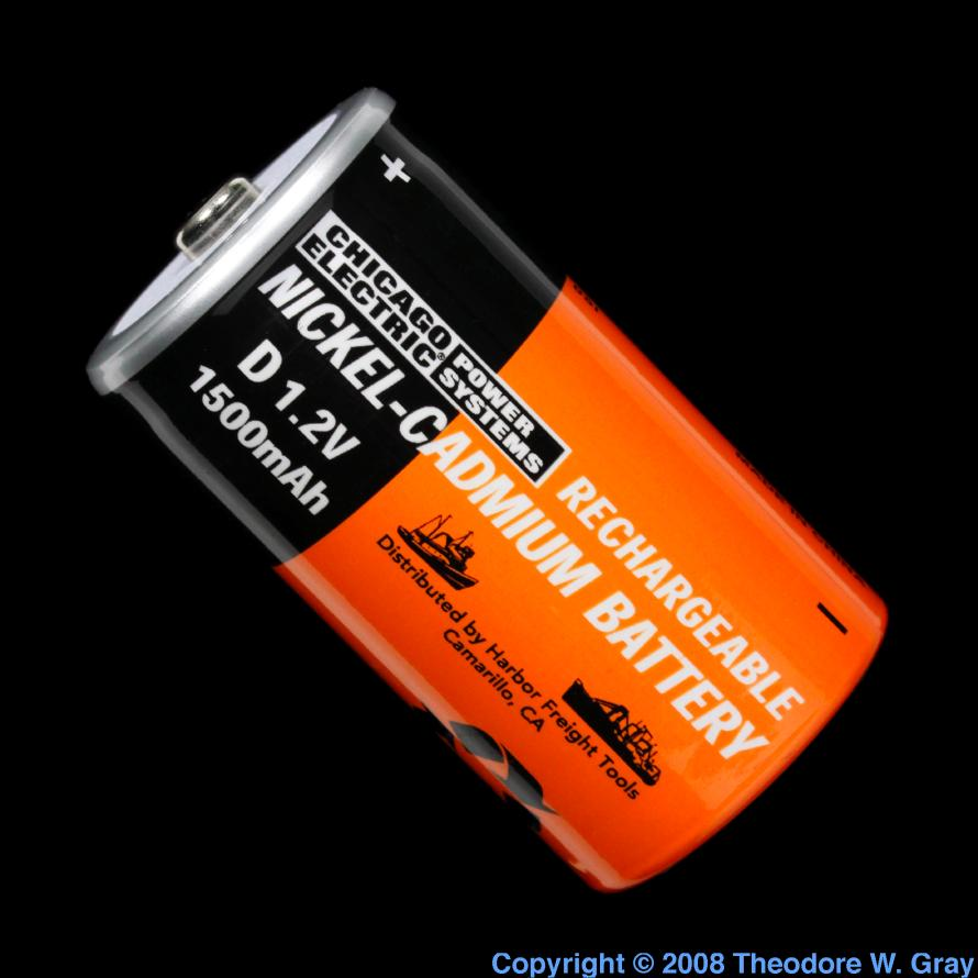 Nickel Cadmium Battery : Facts pictures stories about the element cadmium in