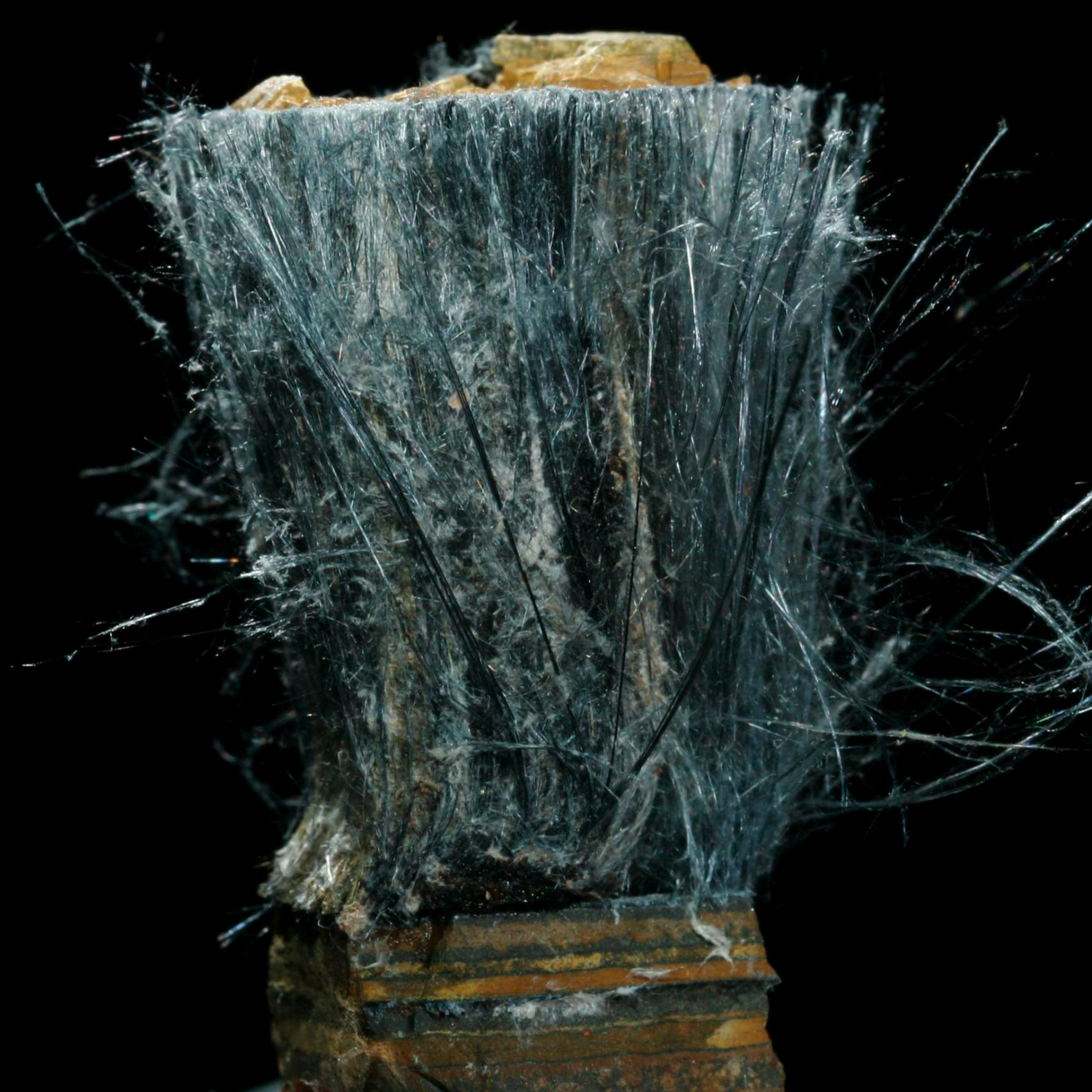 Sample of the element iron in the periodic table iron riebeckite asbestos urtaz Image collections