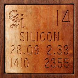 Ptable silicon for Ptable groups