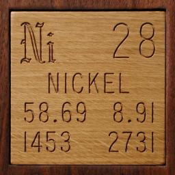 Facts pictures stories about the element nickel in the periodic