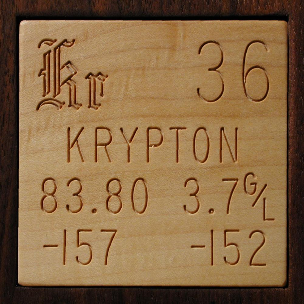 Facts Pictures Stories About The Element Krypton In The Periodic Table