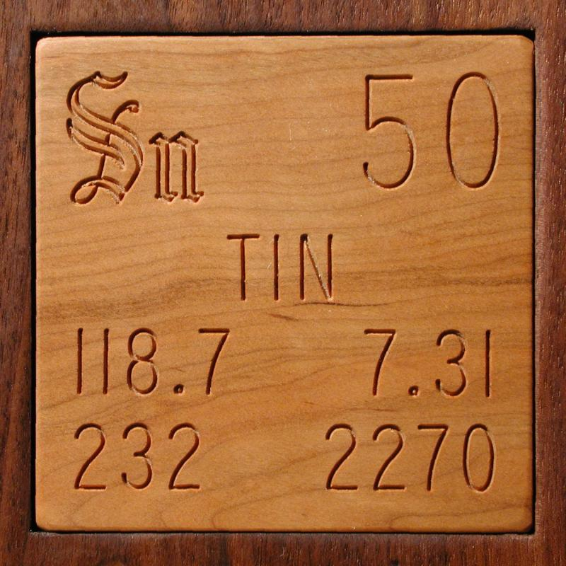 Technical Data For The Element Tin In The Periodic Table