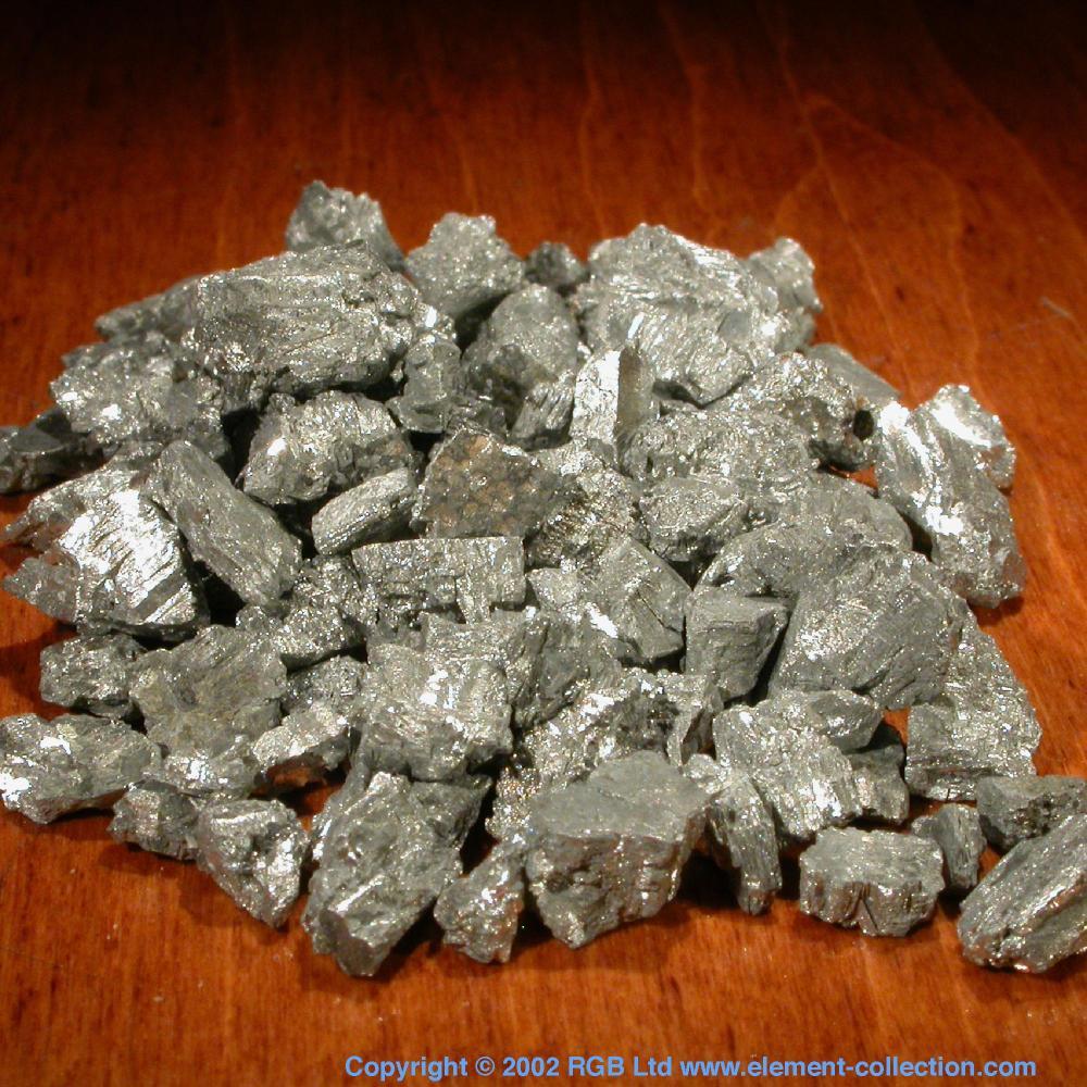 Pure Silver Element