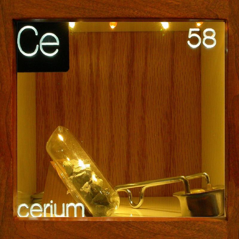 Cerium: uses