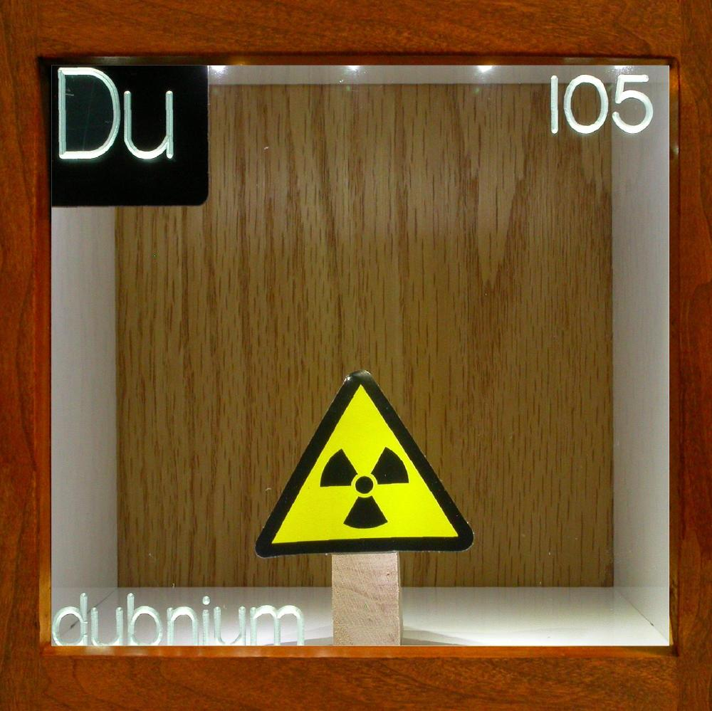 105 dubnium for 105 periodic table