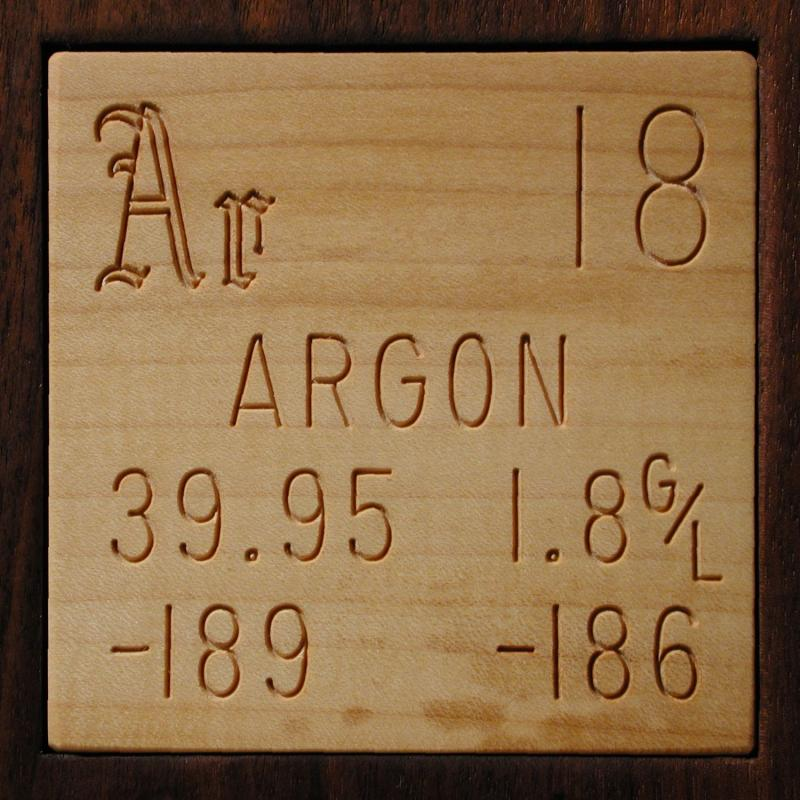 Technical Data For The Element Argon In The Periodic Table