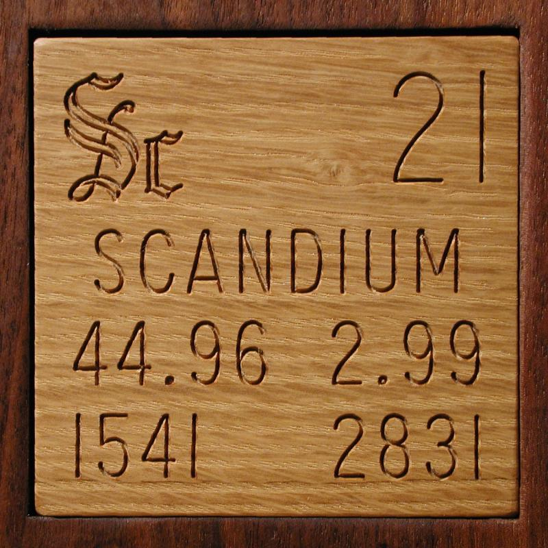 Samples from by atomic number 118 in the periodic table scandium urtaz Choice Image