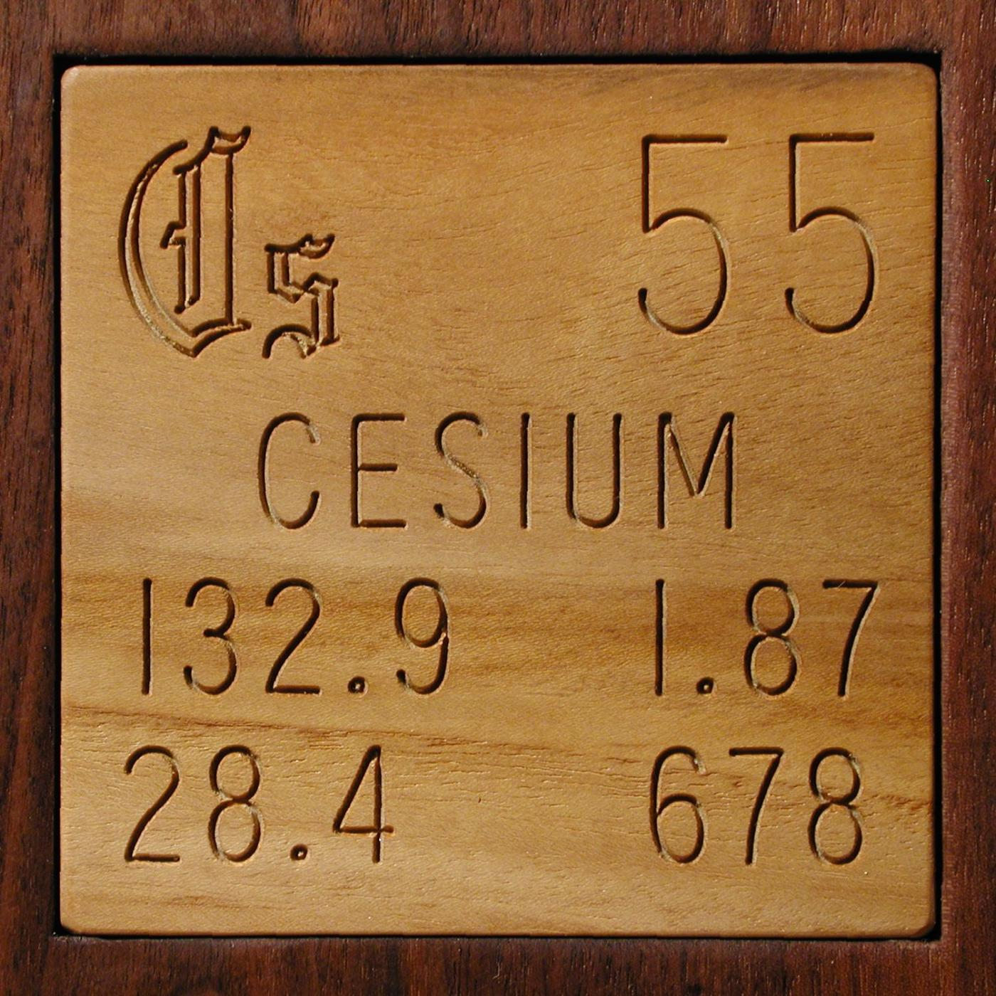 Technical data for the element cesium in the periodic table cesium urtaz Gallery