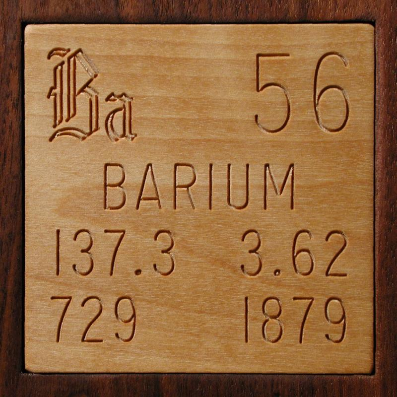 Facts pictures stories about the element barium in the periodic table barium urtaz Gallery