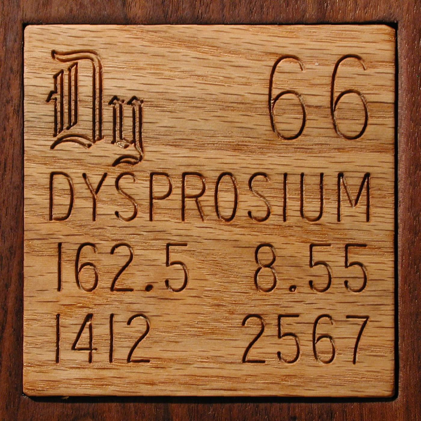 Technical Data For The Element Dysprosium In The Periodic Table