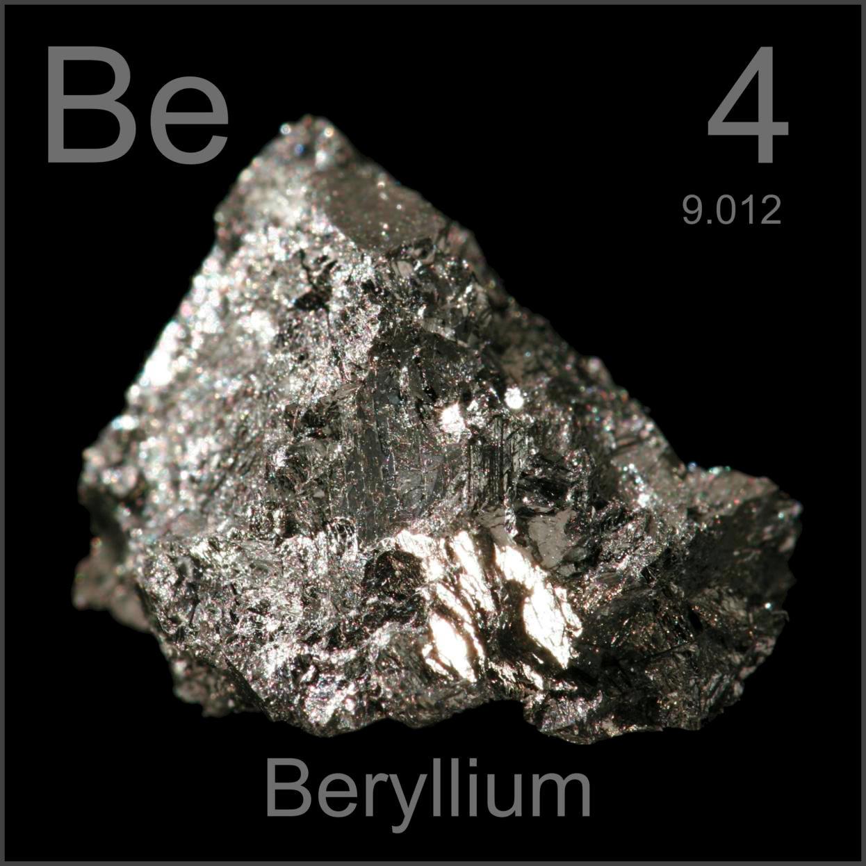 Beryllium Crystalline Lumps 99 9