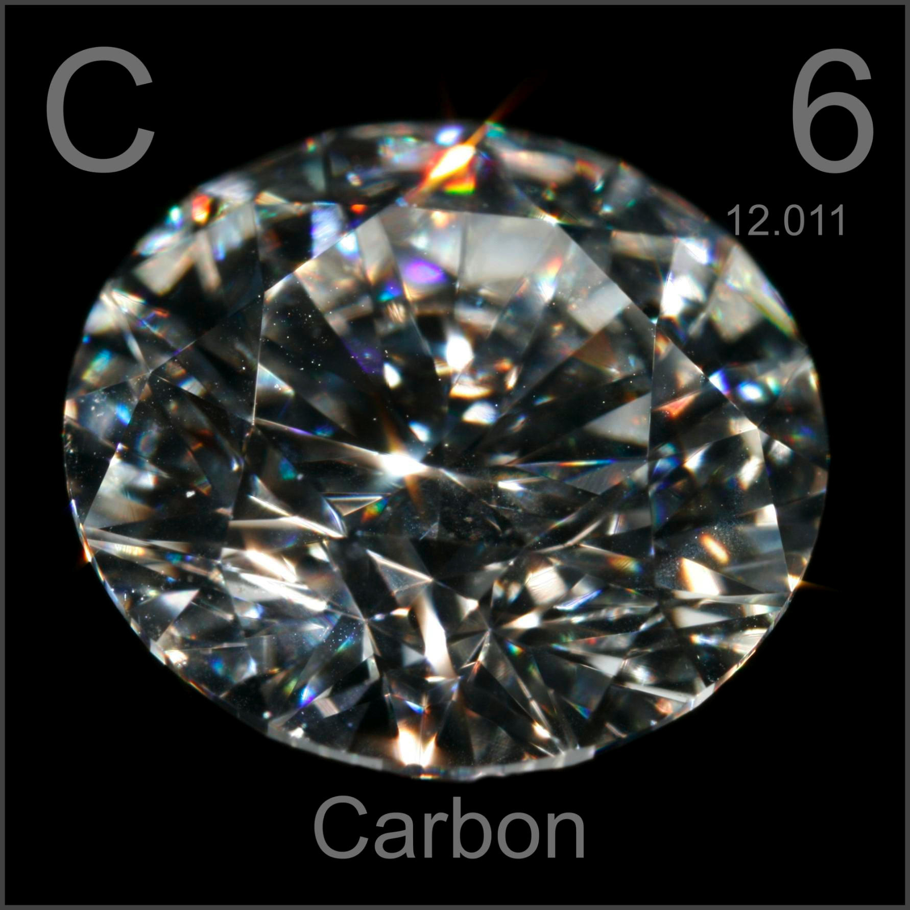 Sample Of The Element Carbon In The Periodic Table