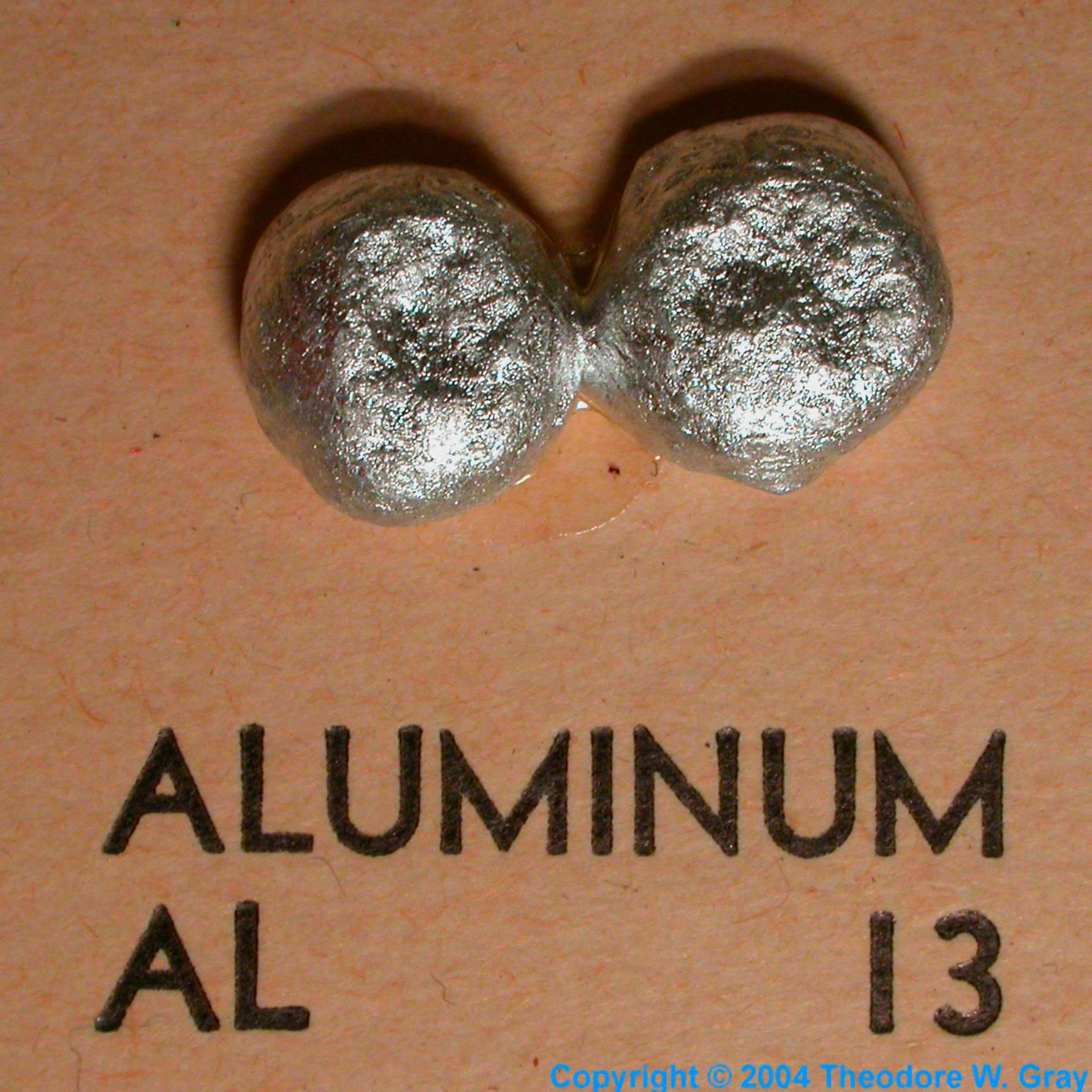 Sample Of The Element Aluminum In The Periodic Table