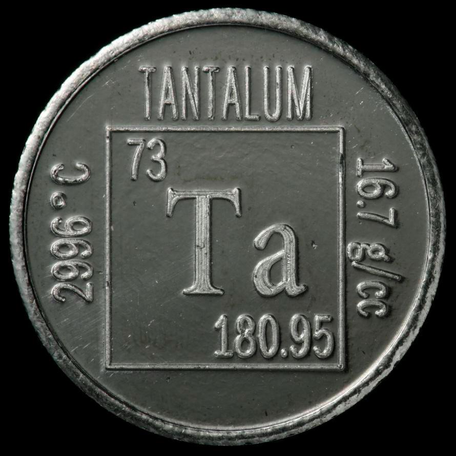 Tantalite Periodic Table Tantalum Element Slogan Wwwmiifotoscom