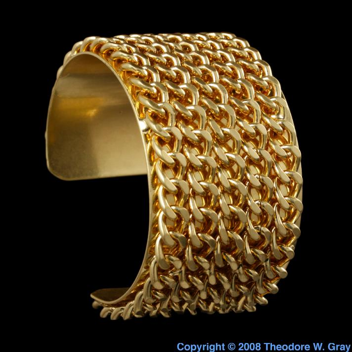 Sample of the element gold in the periodic table gold cheap mall jewelry urtaz Images