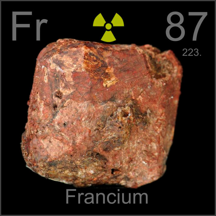 Facts Pictures Stories About The Element Francium In The Periodic