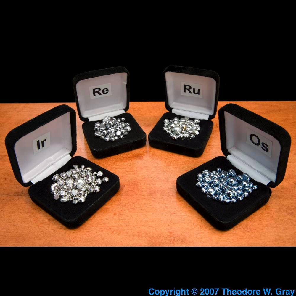 Facts, pictures, stories about the element Ruthenium in the Periodic
