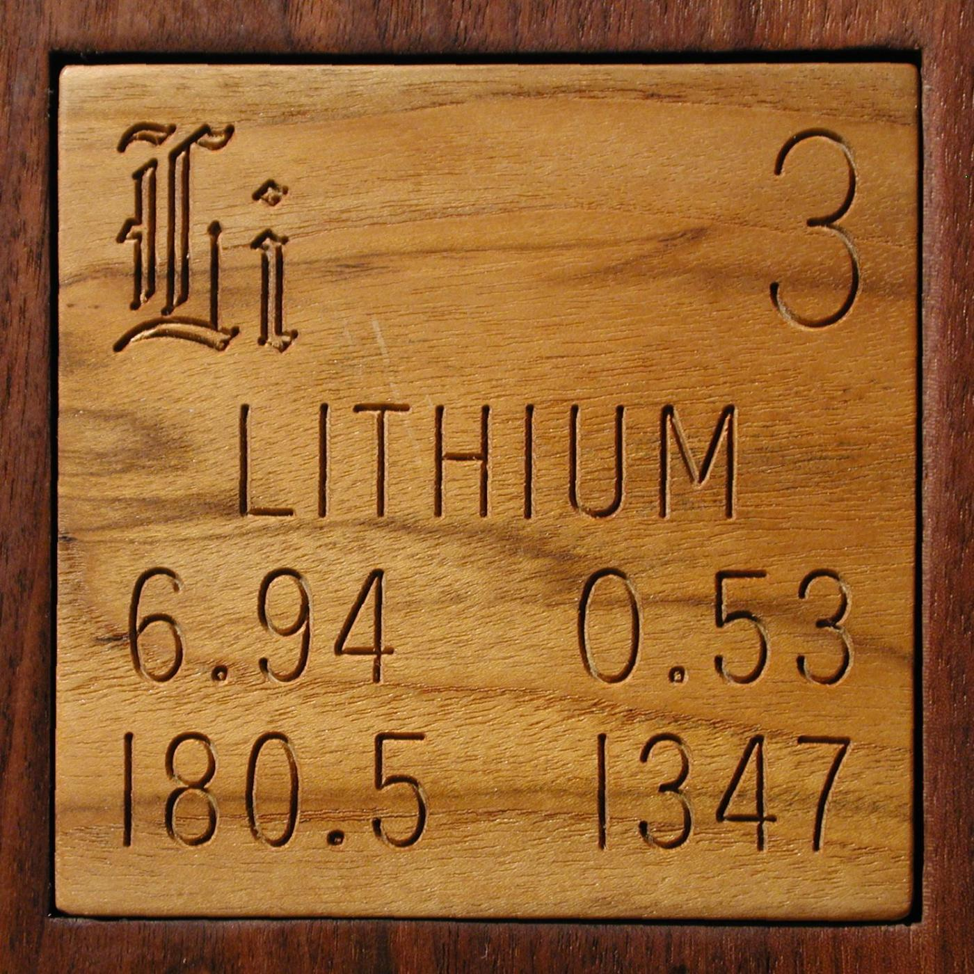 Technical data for the element lithium in the periodic table lithium urtaz Gallery