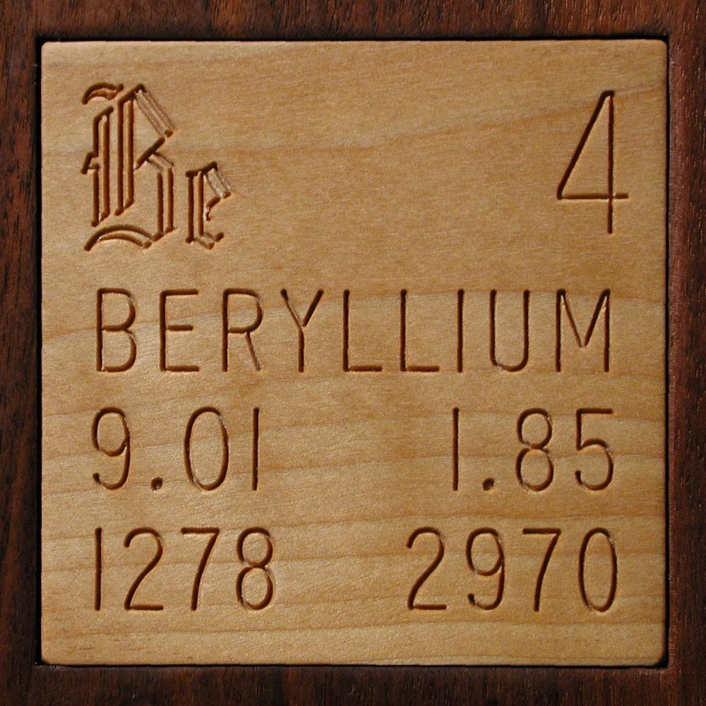 Facts Pictures Stories About The Element Beryllium In The Periodic