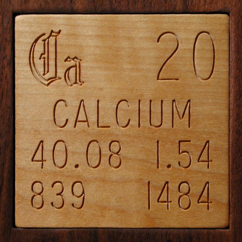 Technical Data For The Element Calcium In The Periodic Table