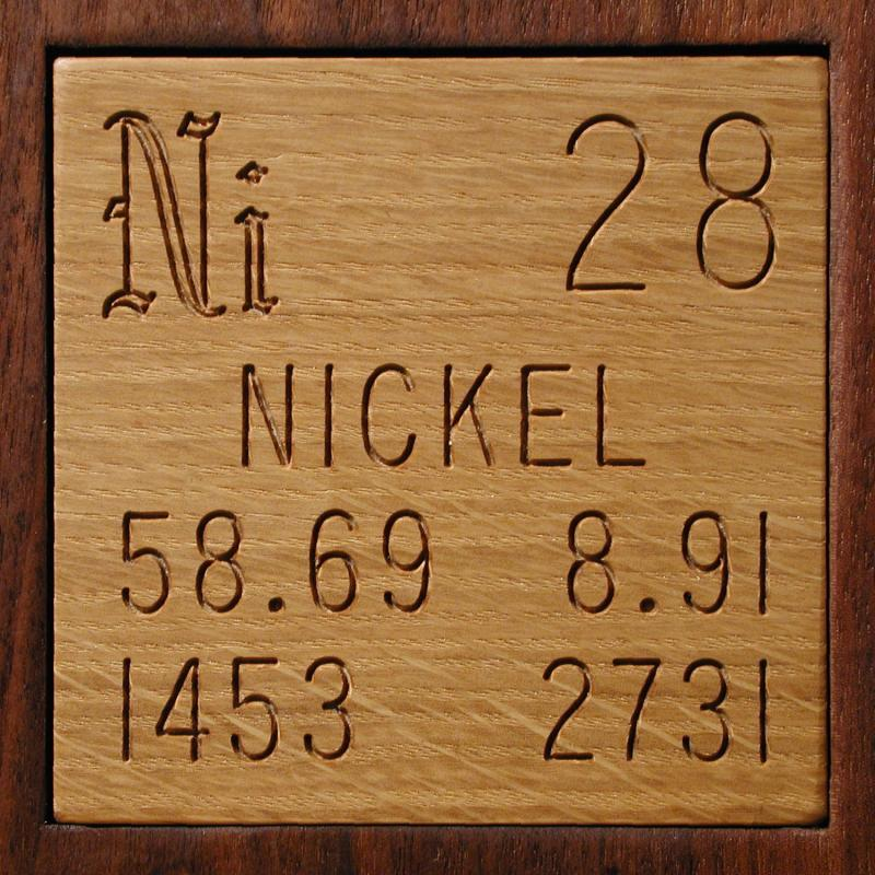Technical data for the element nickel in the periodic table nickel urtaz Choice Image
