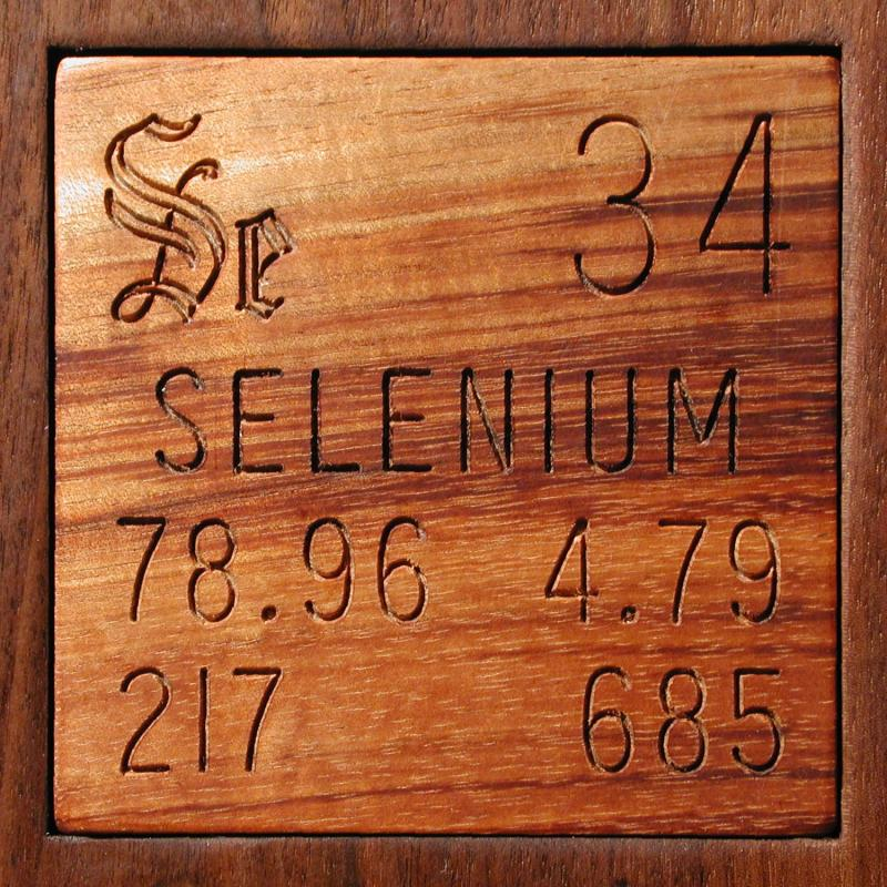 Technical Data For The Element Selenium In The Periodic Table