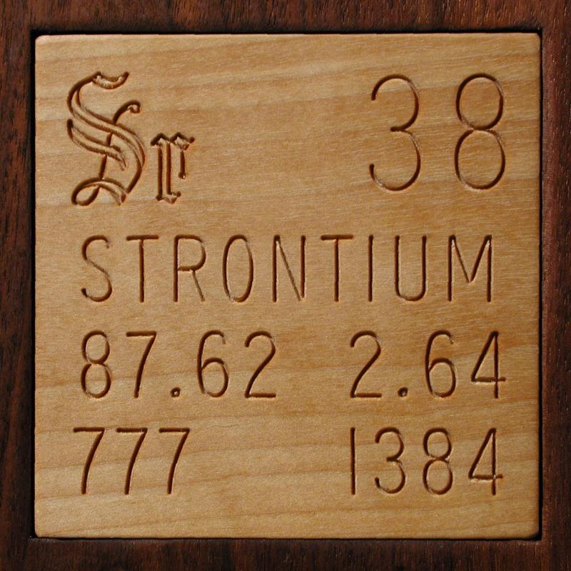 Facts Pictures Stories About The Element Strontium In The Periodic