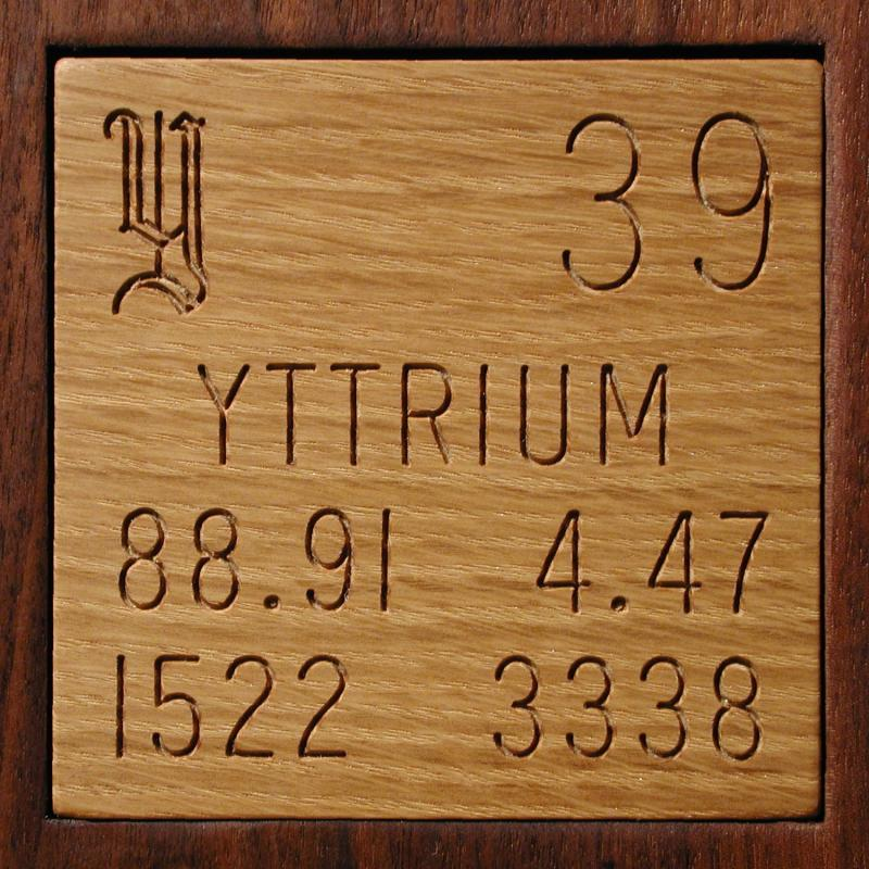 Facts pictures stories about the element yttrium in the periodic table yttrium urtaz Images