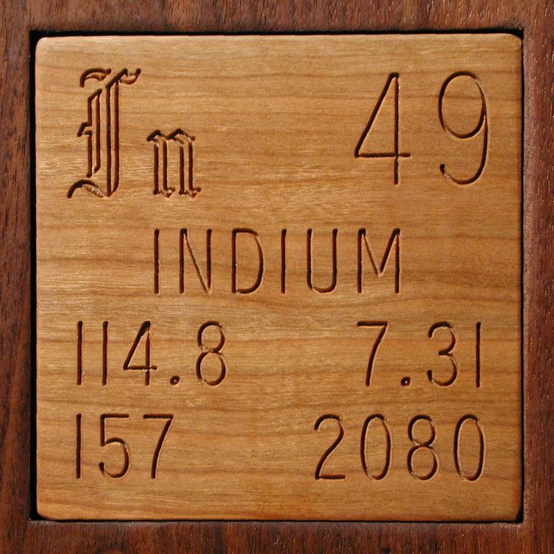 Facts Pictures Stories About The Element Indium In The Periodic Table