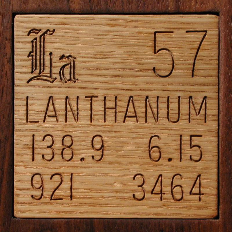 Samples from rare earth metals 30 in the periodic table lanthanum urtaz