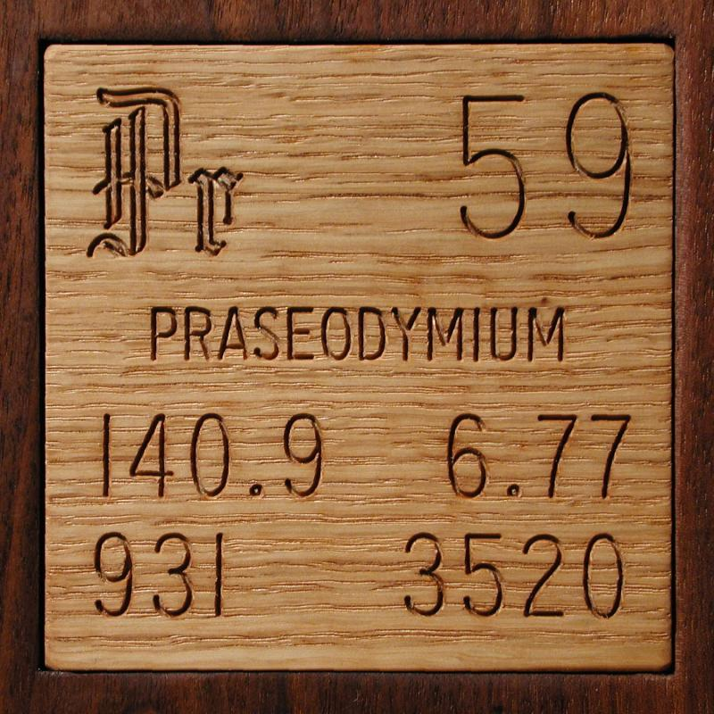 Facts Pictures Stories About The Element Praseodymium In The