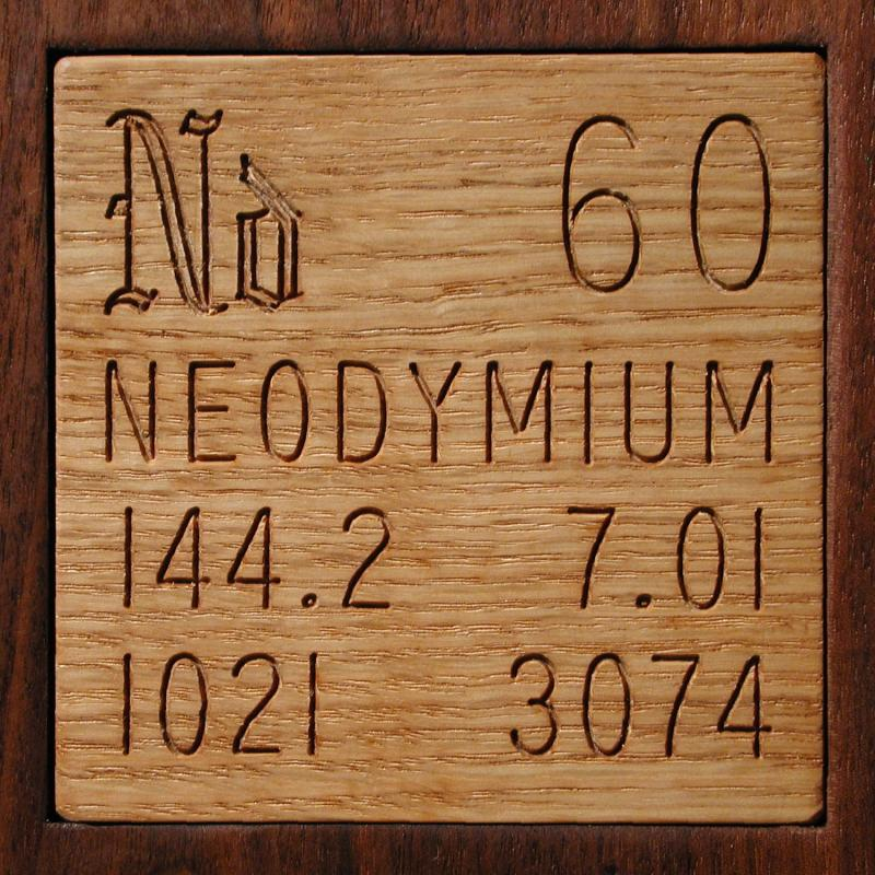 Facts Pictures Stories About The Element Neodymium In The Periodic