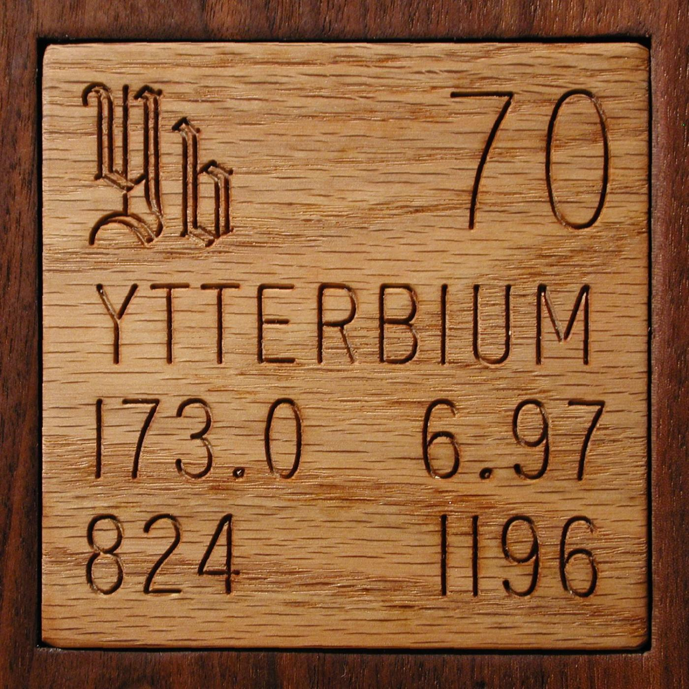Technical Data For The Element Ytterbium In The Periodic Table