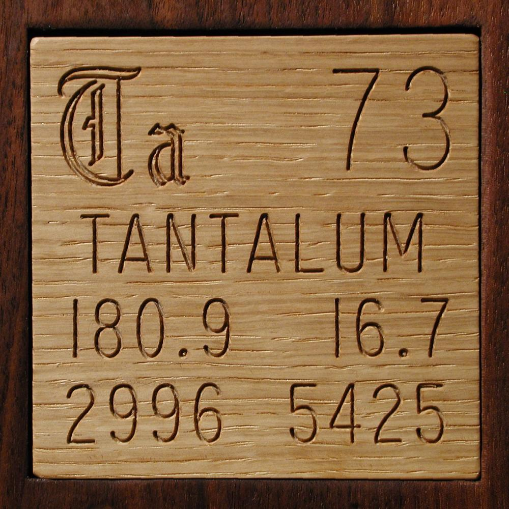Facts Pictures Stories About The Element Tantalum In The Periodic