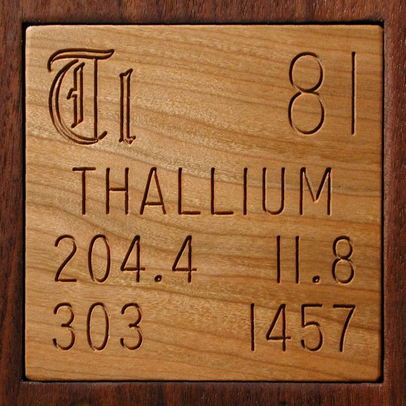 Facts Pictures Stories About The Element Thallium In The Periodic