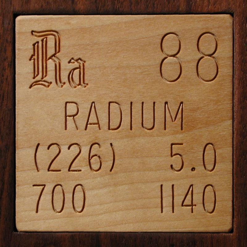 Facts Pictures Stories About The Element Radium In The Periodic Table