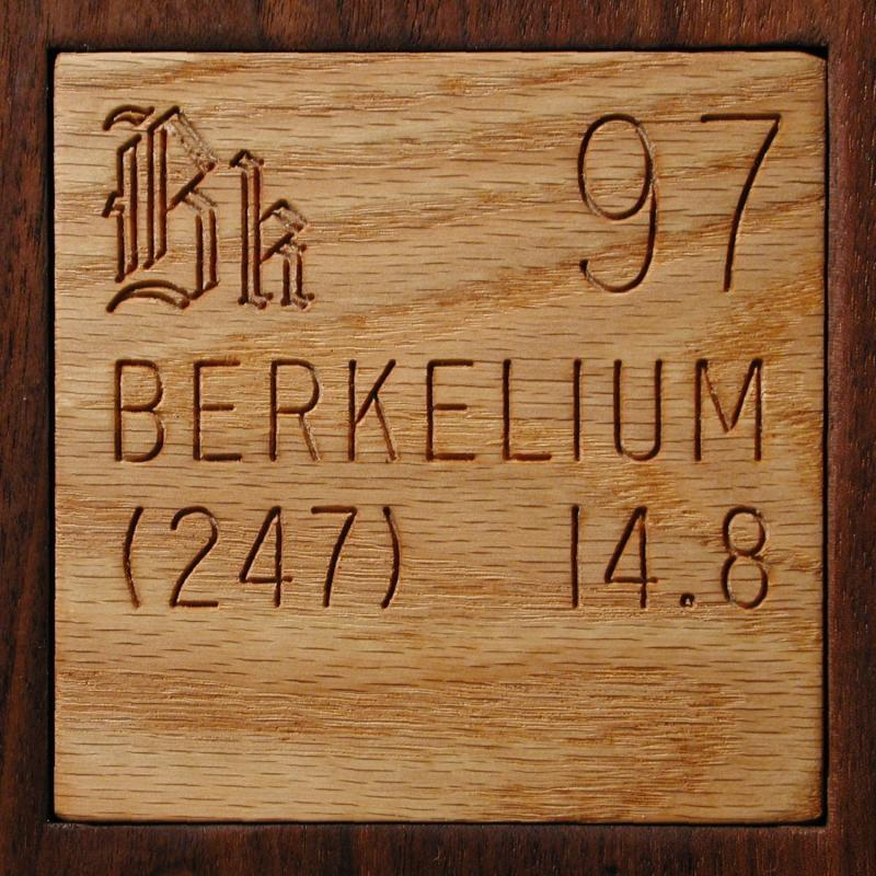 Facts Pictures Stories About The Element Berkelium In The Periodic