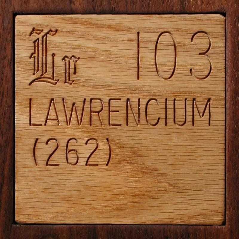 Facts Pictures Stories About The Element Lawrencium In The