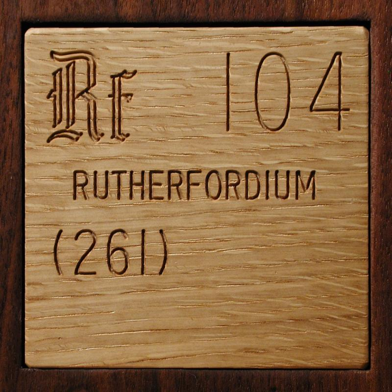 Facts, pictures, stories about the element Rutherfordium ...