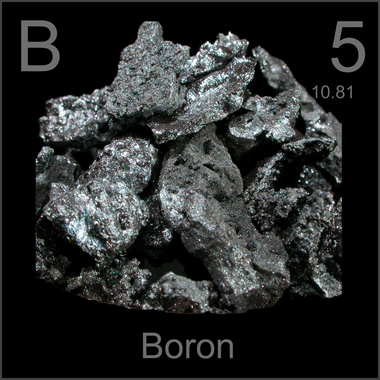 Facts pictures stories about the element boron in the periodic table boron bottle of lumps gamestrikefo Choice Image