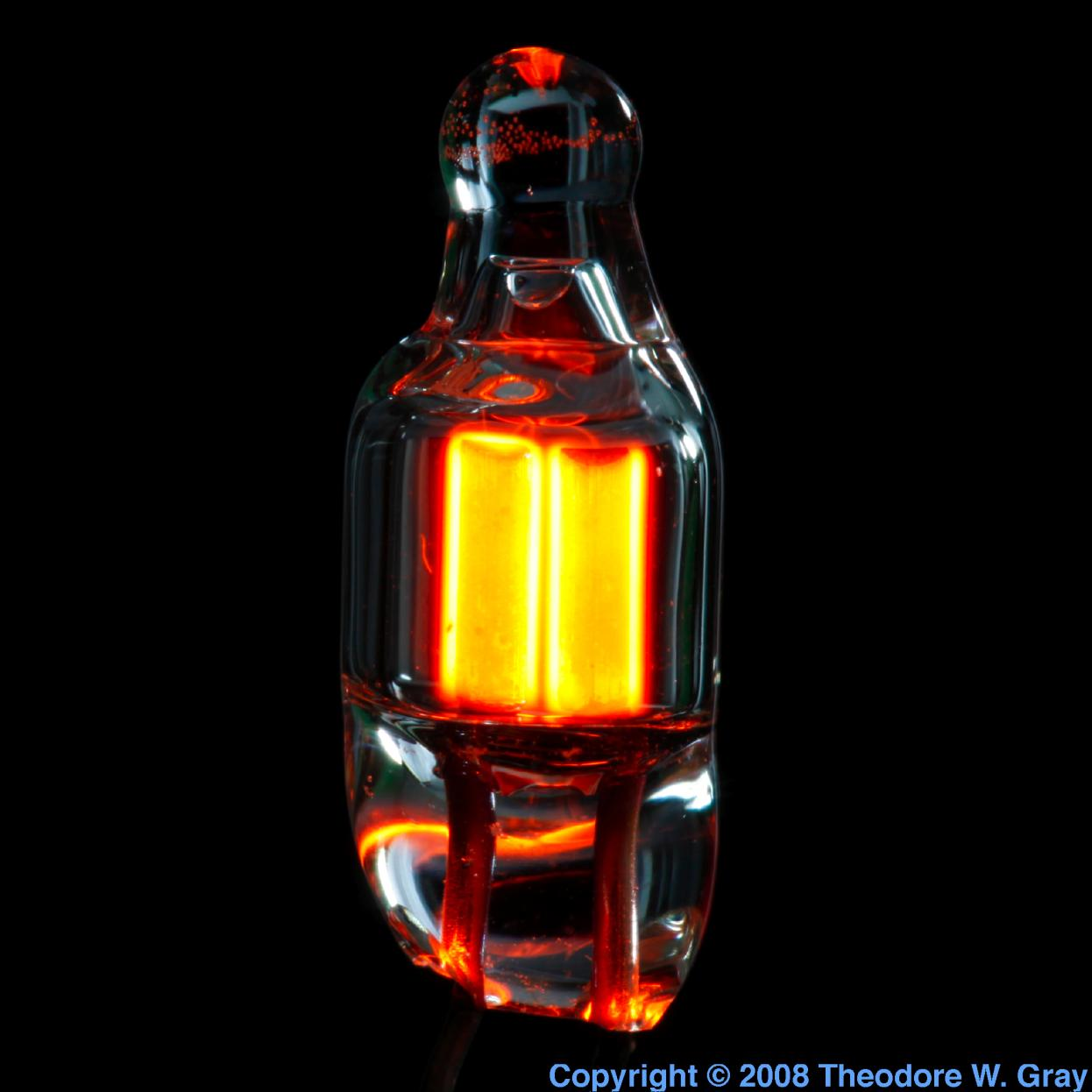 Facts pictures stories about the element neon in the periodic table neon tiny neon bulb lit gamestrikefo Images
