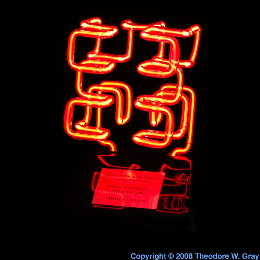 Facts pictures stories about the element neon in the periodic table neon neon fractal sculpture gamestrikefo Gallery